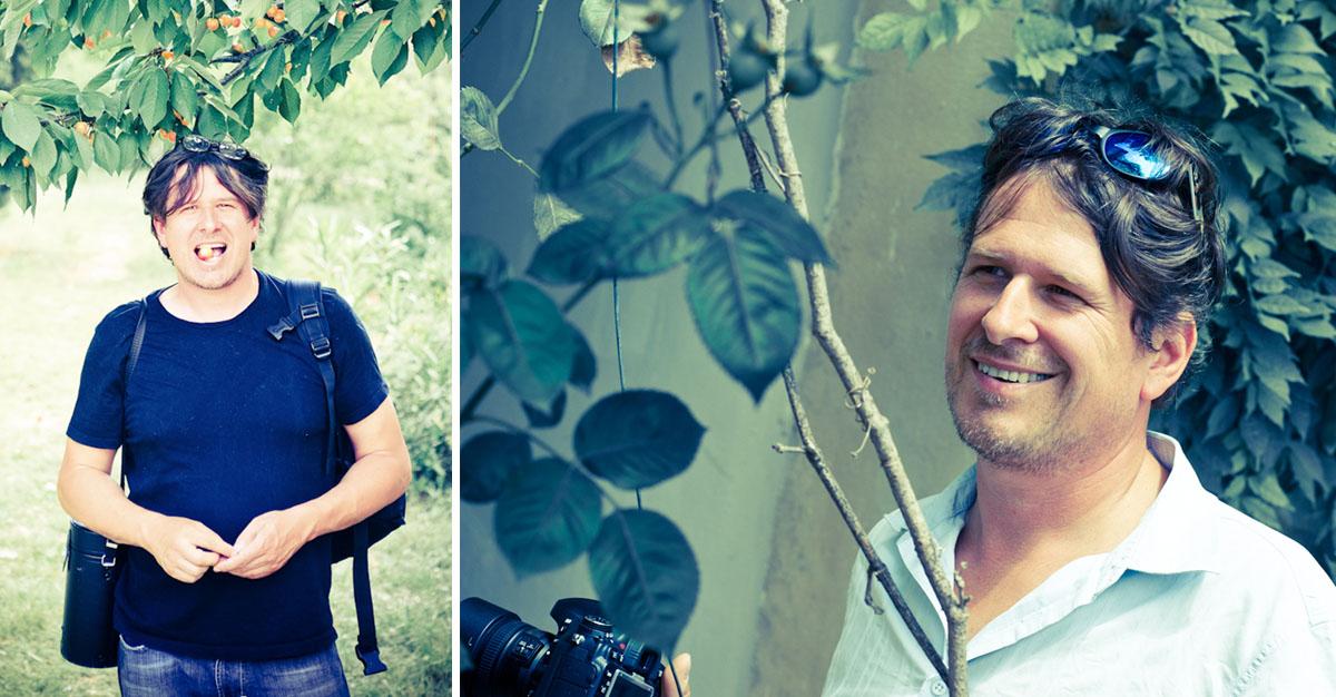 Frederic le photographe mas des violettes
